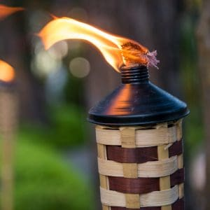 do tiki torches repel wasps
