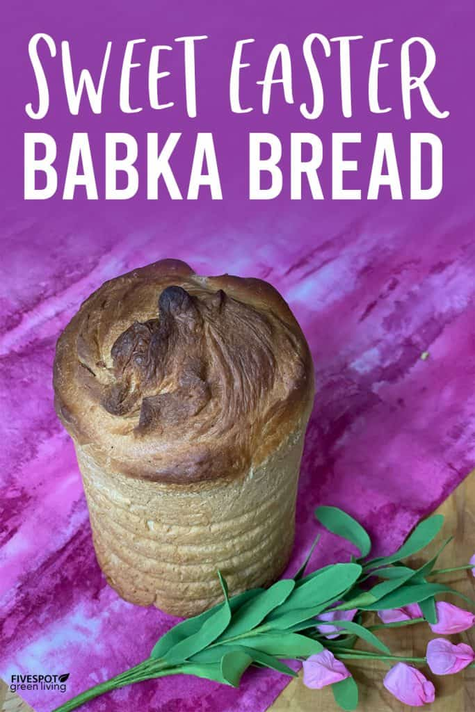 ukrainian babka cake