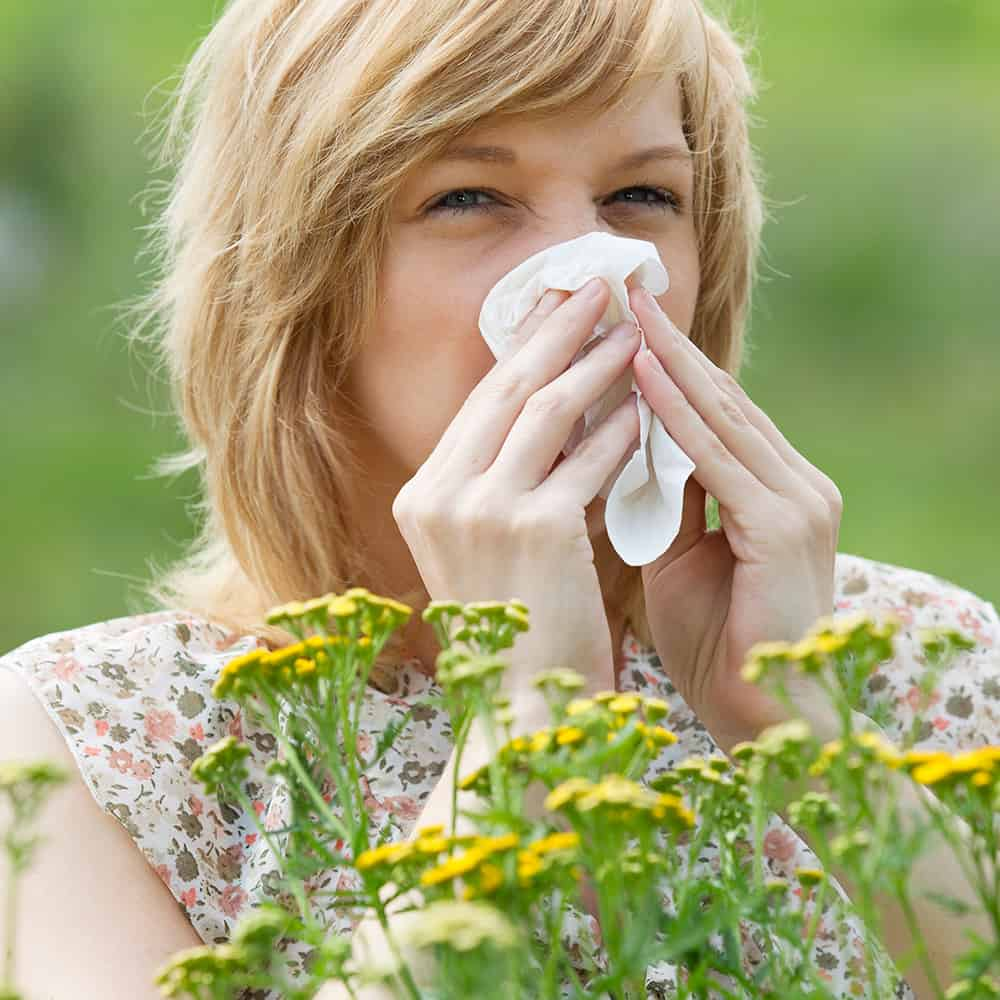 home remedies for pollen allergies