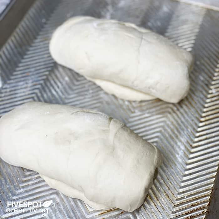 easy bread recipe second rise