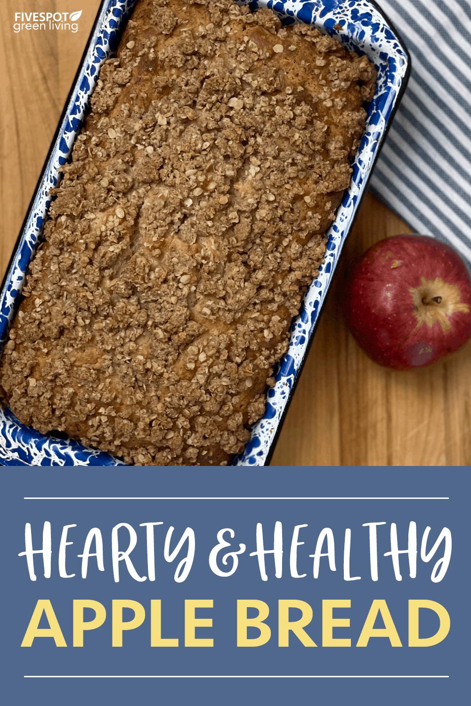 healthy apple bread