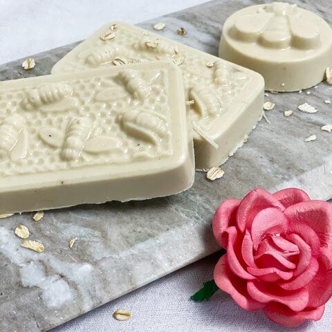 melt and pour honey oatmeal goat milk soap recipe