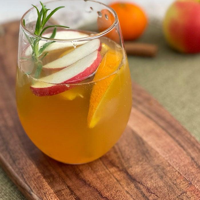 mocktail apple cider